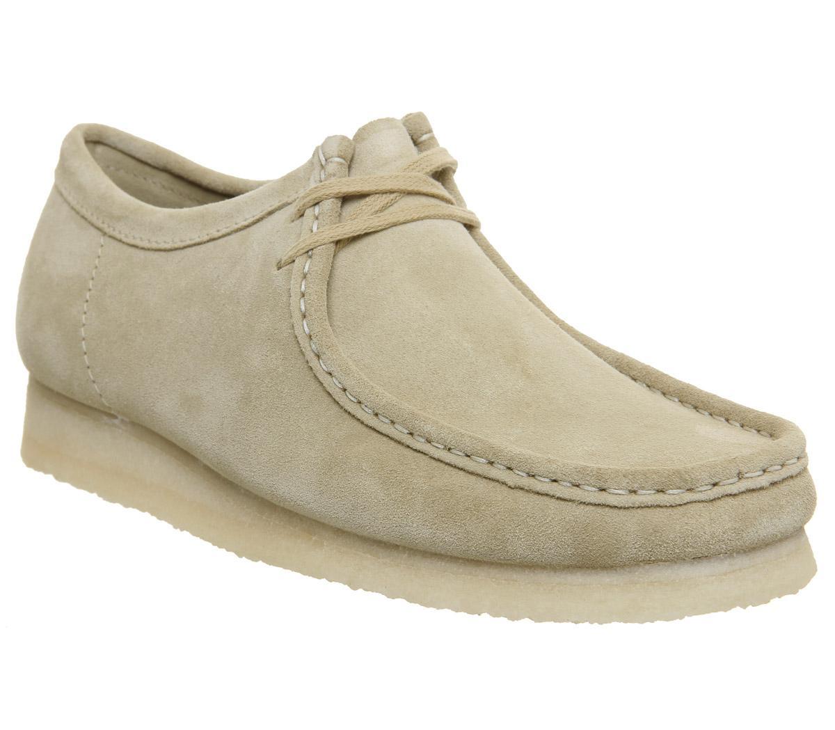 Clarks Originals Wallabee Shoes Maple