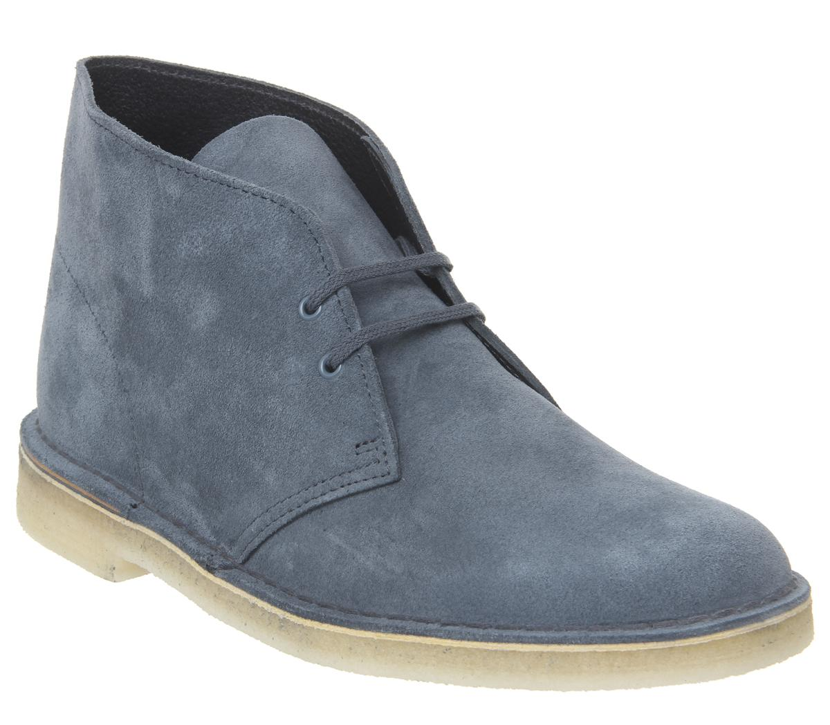 Clarks Originals Desert Boots Deep Blue