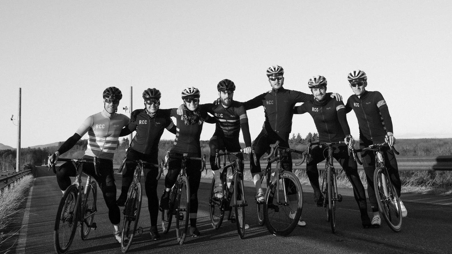 Meet the seven riders who came together for the Rapha Cycling Club's trip to New York State.