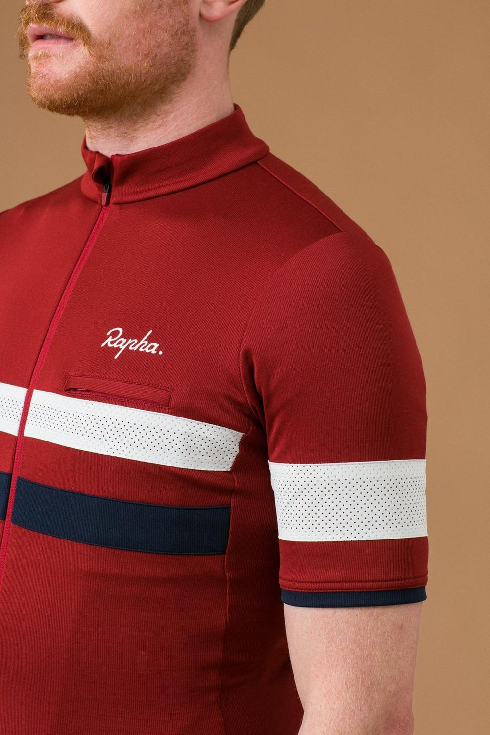 Rapha Brevet Collection mens cycling jerseys merino cycling jersey