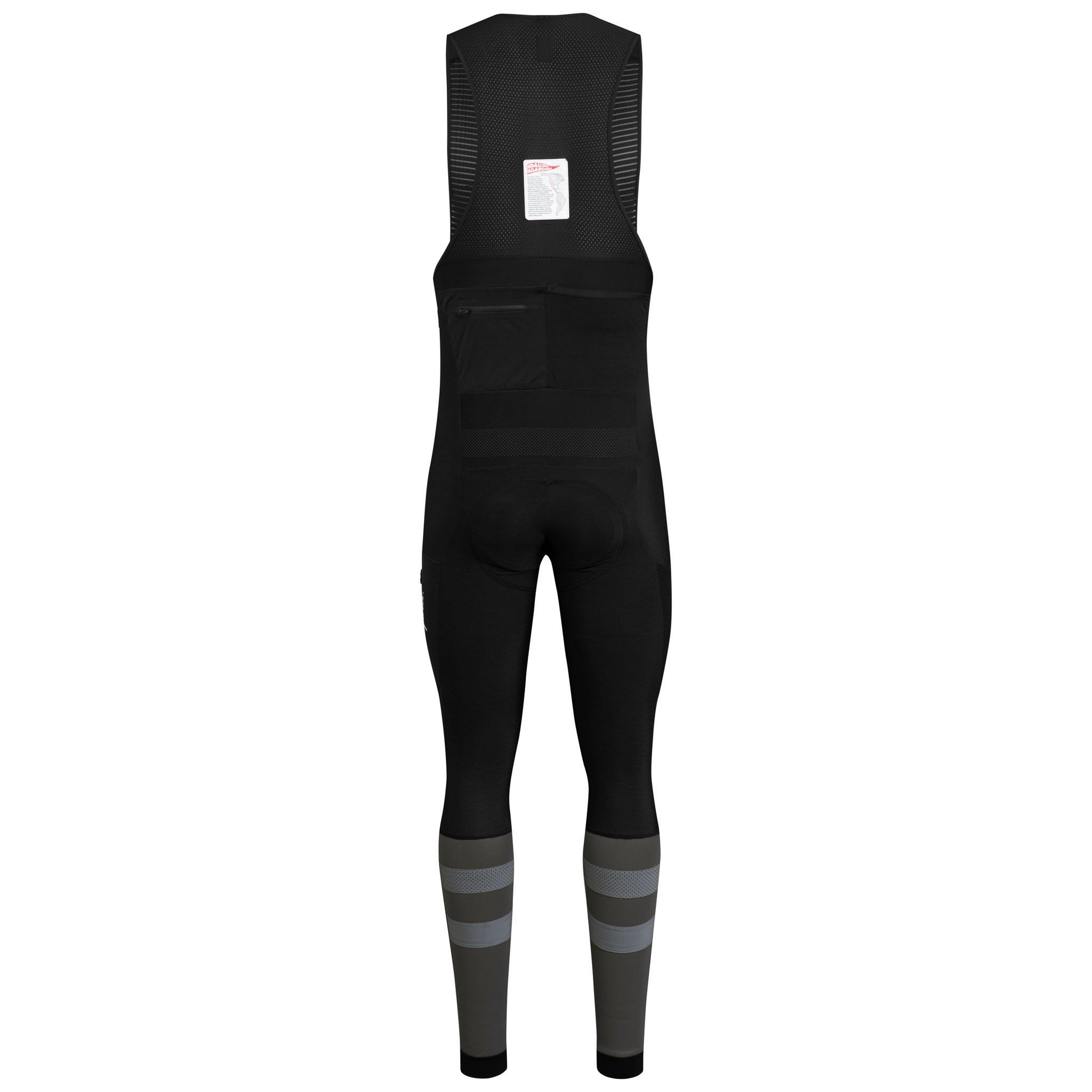 Cargo Winter Tights with Pad Black, XX Large