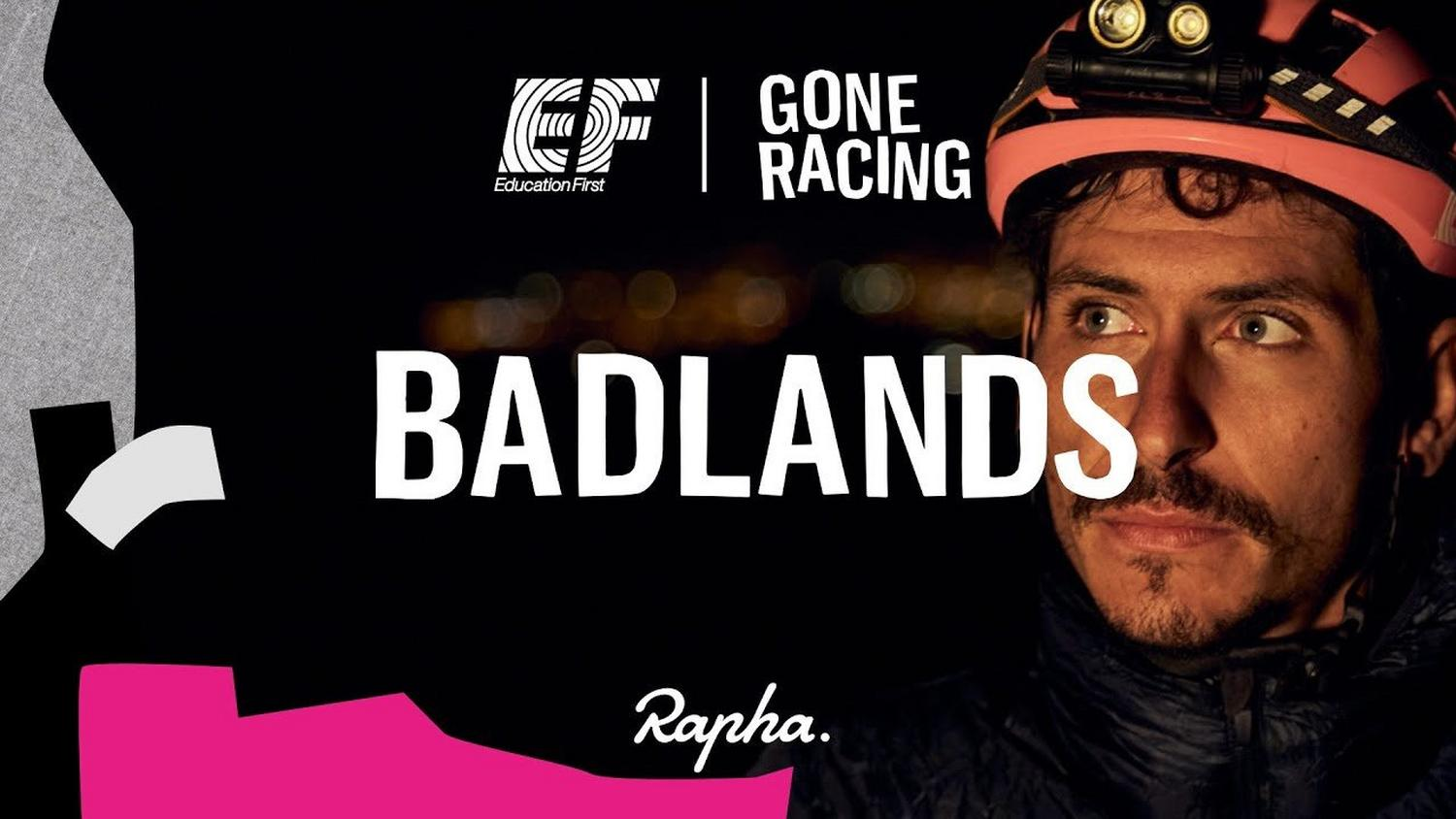 Rapha and Team EF Education First Cycling with character.