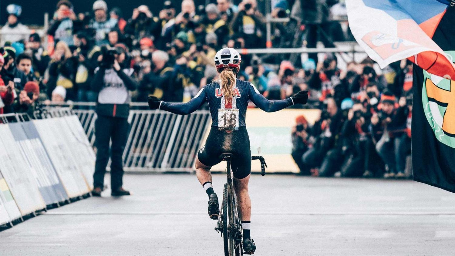 Ellen Noble's day at the Cyclocross World Championships.