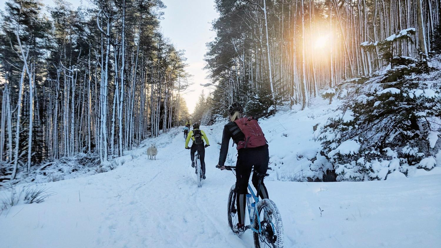 Rapha Festive 500 Off-Road Challenge - The Road Less Travelled with Katherine Moore Cycling Adventure Athlete