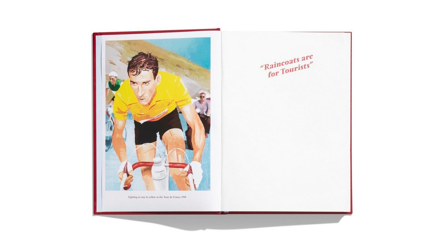 Rapha Editions - Gathering Intelligence: The Racing Secrets of Raphael Geminiani. Road Cycling Book 2020