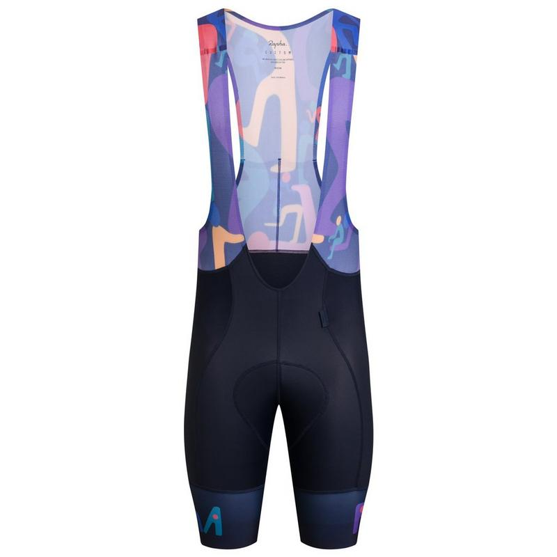 RCC x Geoff McFetridge Men's Pro Team Bib Shorts II