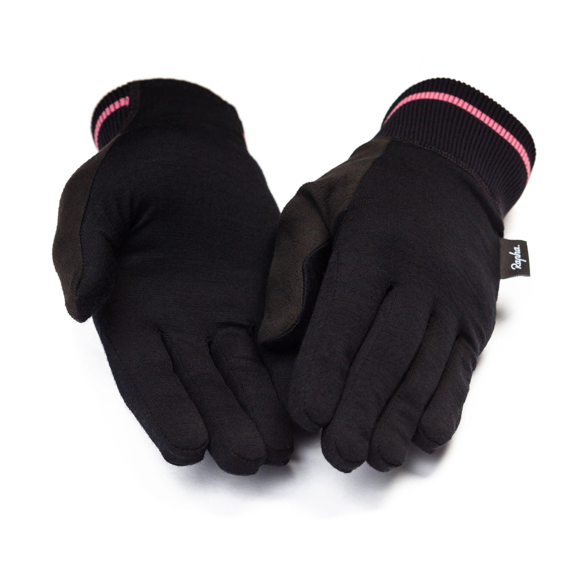 Merino Liner Cycling Gloves For Riding In Cold Winter Weather Rapha
