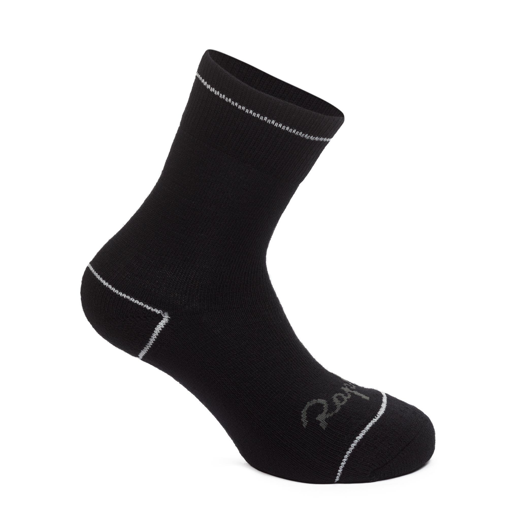 Rapha Cross Pro Team Socks Extra Long Chequered Black Mens Cycling Large BNWT