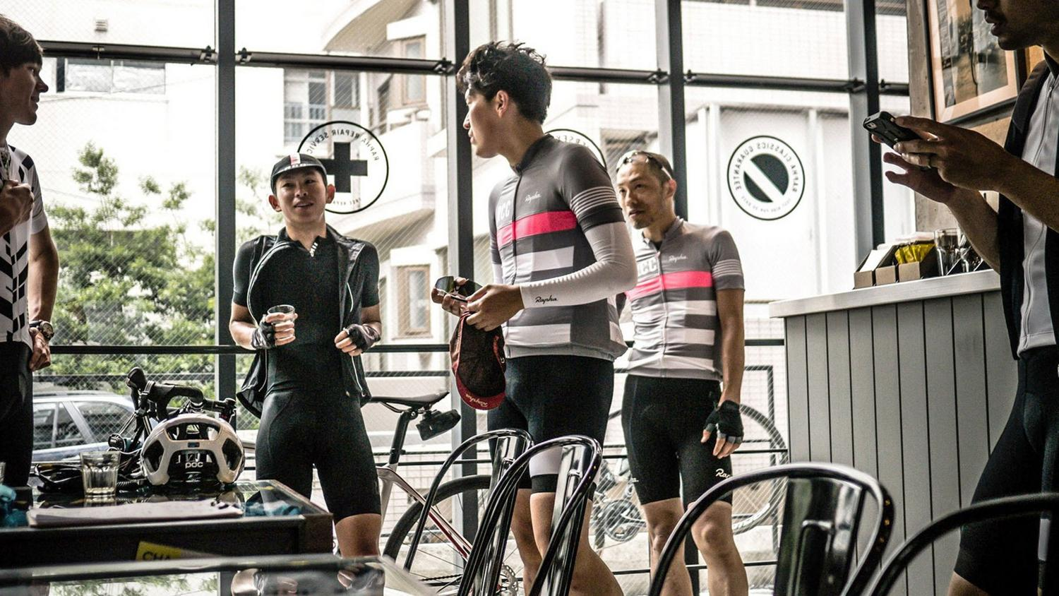 London Cycling Club >> Clubhouses Rapha