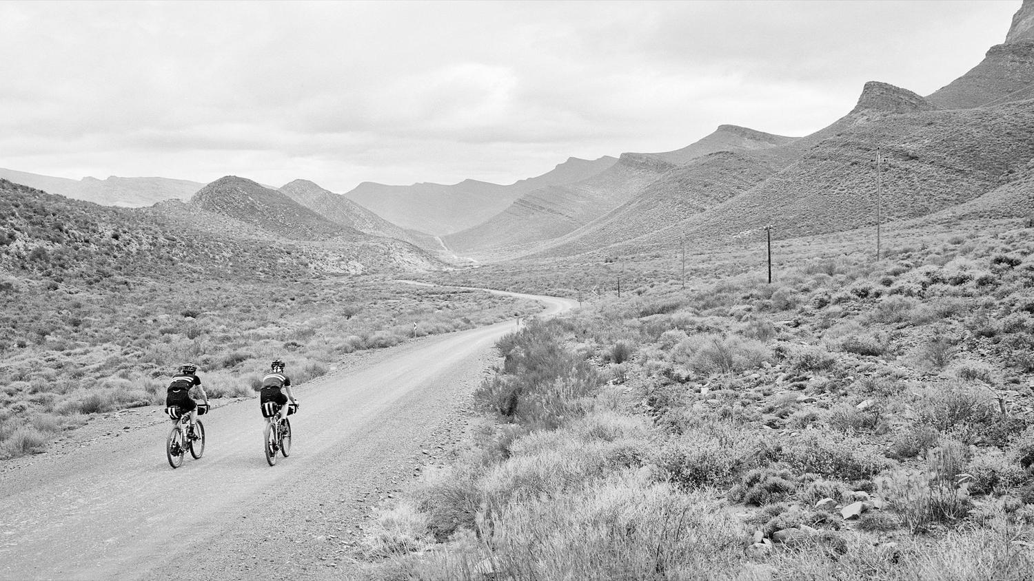 For the launch of the Brevet collection, three riders travelled to South Africa to explore part of the Tour of Ara – a 700km race across some of the country's most notorious and challenging terrain.