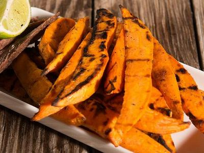 Grilled Sweet Potato Planks Recipe