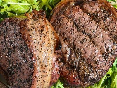 Bacon-Wrapped Elk Steaks Recipe