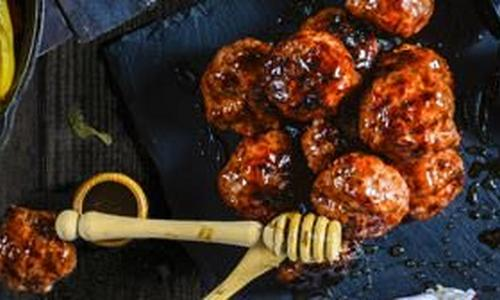 Honey Balsamic Meatballs