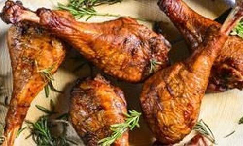Injected Drunken Smoked Turkey Legs