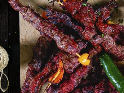 Asian-Style Grilled Beef Skewers Recipe