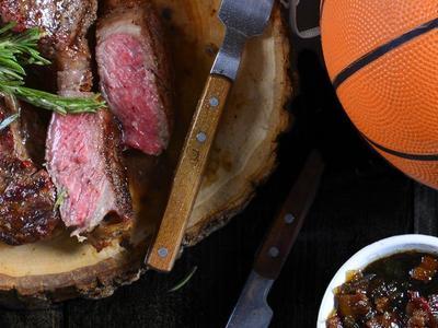 Strip Steak With Bacon-Onion Jam