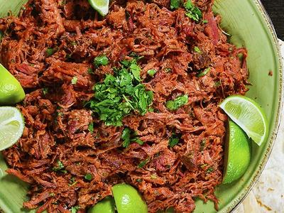 Sweet & Smoky Barbacoa Pulled Pork Recipe