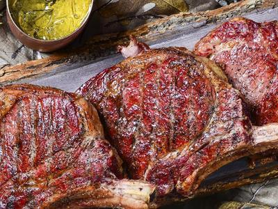 Bison Tomahawk Steak Recipe