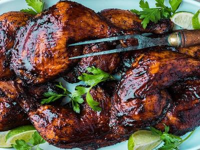 Ancho-Chile Smoked BBQ Chicken Legs Recipe