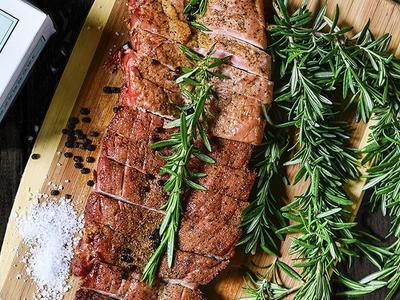 Rosemary Roasted Pork Collar Recipe