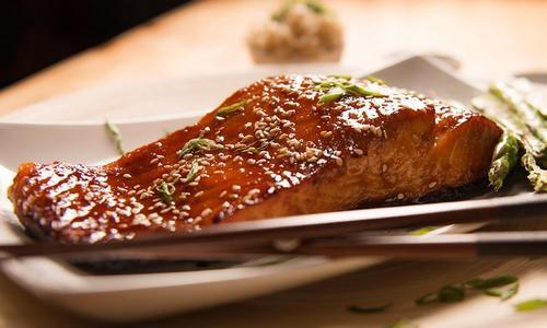 Sweet & Spicy Sriracha Salmon
