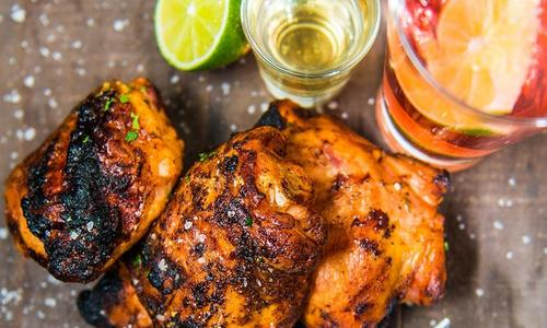 Tequila Lime Chicken Thighs Recipe | Traeger Grills