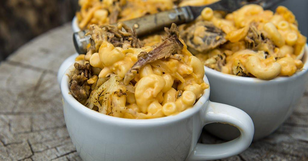 Pulled Pork Mac Cheese Traeger Grills