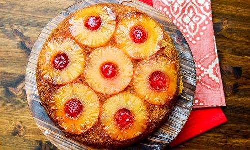 Cast Iron Pineapple Upside Down Cake