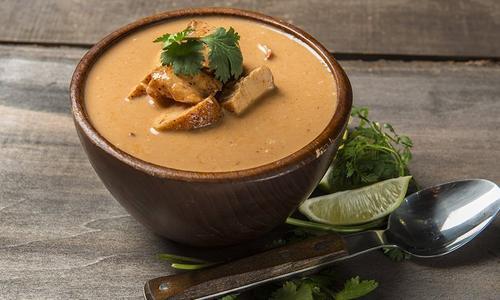 Smokin' Thai Curry Chicken