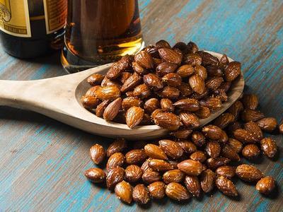 Sweet 'n Spicy Smoked Nuts