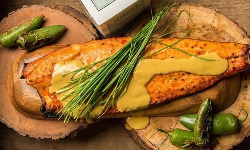 Jalapeño Candied Smoked Salmon