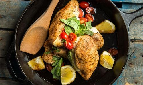 Stuffed Balsamic Chicken