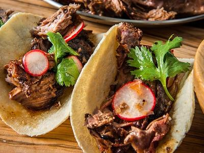 Braised Lamb Shoulder Tacos by Chef Matthew Jennings Recipe