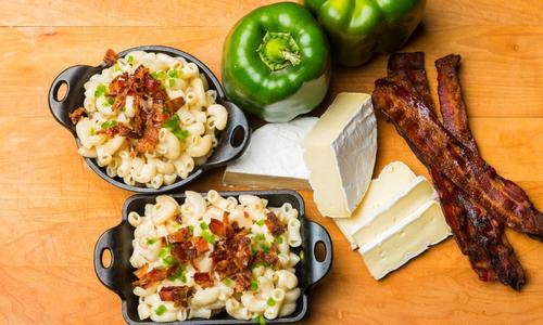 Bacon & Brie Mac & Cheese