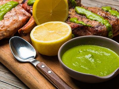 Chef Curtis' Famous Chimichurri Sauce Recipe
