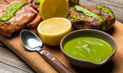 Chef Curtis' Famous Chimichurri Sauce