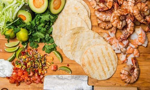 Grilled Shrimp Tacos