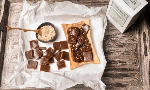 Smoked Salted Caramels