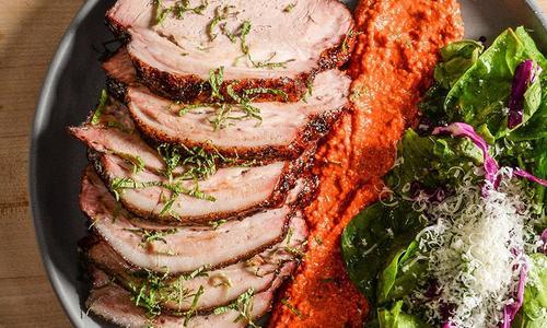 Molasses Grazed Smoked Pork Shoulder
