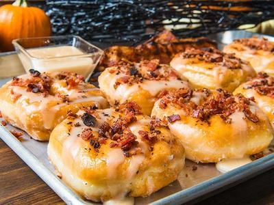 Maple Bacon Donuts Recipe