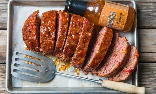 Sweet Mandarin Meatloaf
