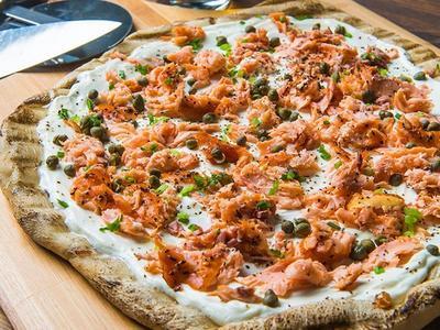 Smoked Salmon Flatbread Recipe