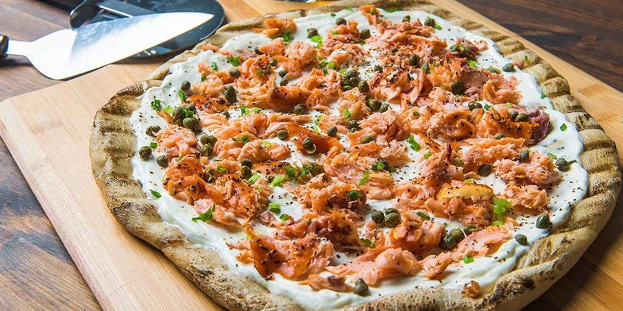 image of Smoked Salmon Flatbread
