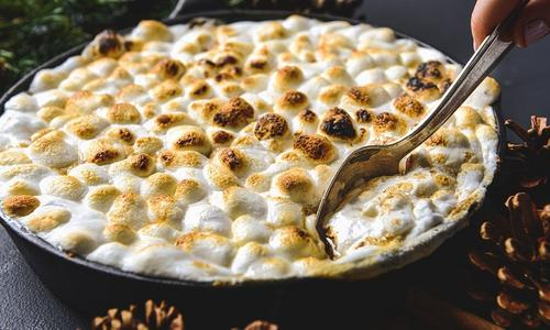 Sweet Potato Marshmallow Casserole
