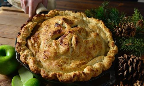 Traditional Baked Apple Pie
