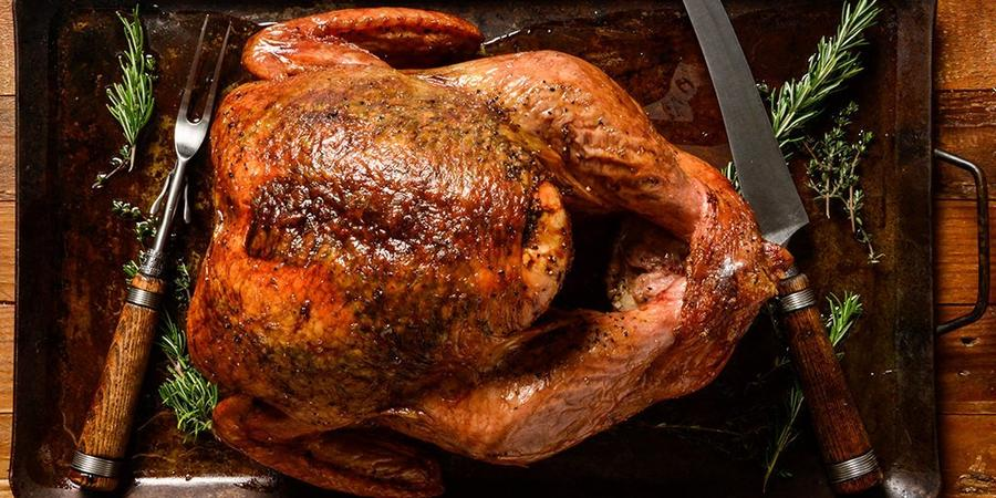 image of Traditional Smoked Thanksgiving Turkey