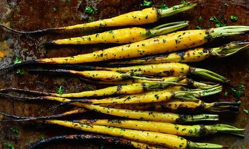 Heirloom Roasted Carrots