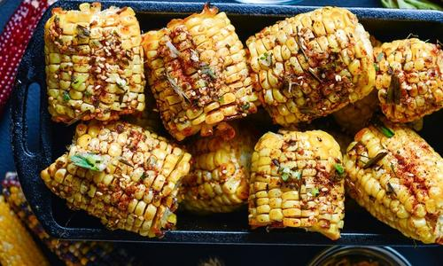 Traeger Grilled Whole Corn