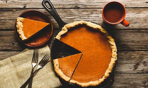 Traditional Baked Pumpkin Pie