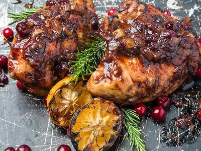 Baked Cranberry Chicken Recipe